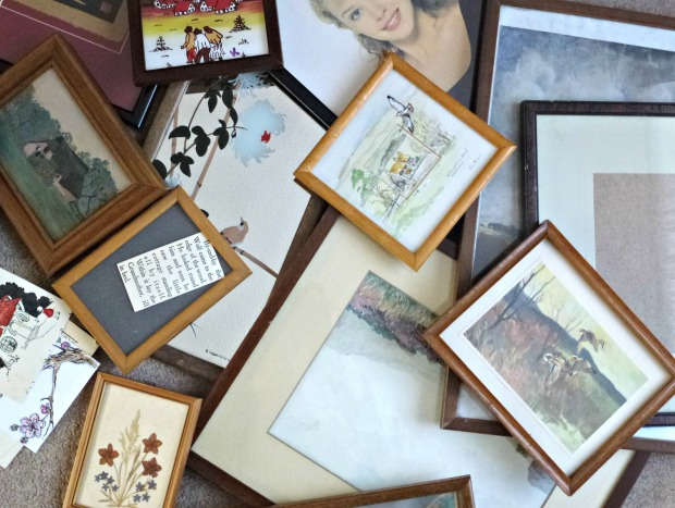 a bunch of old frames