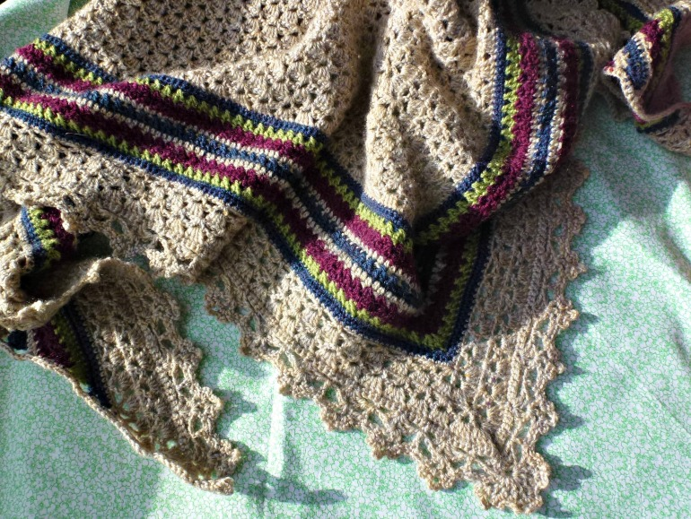 Another granny shawl