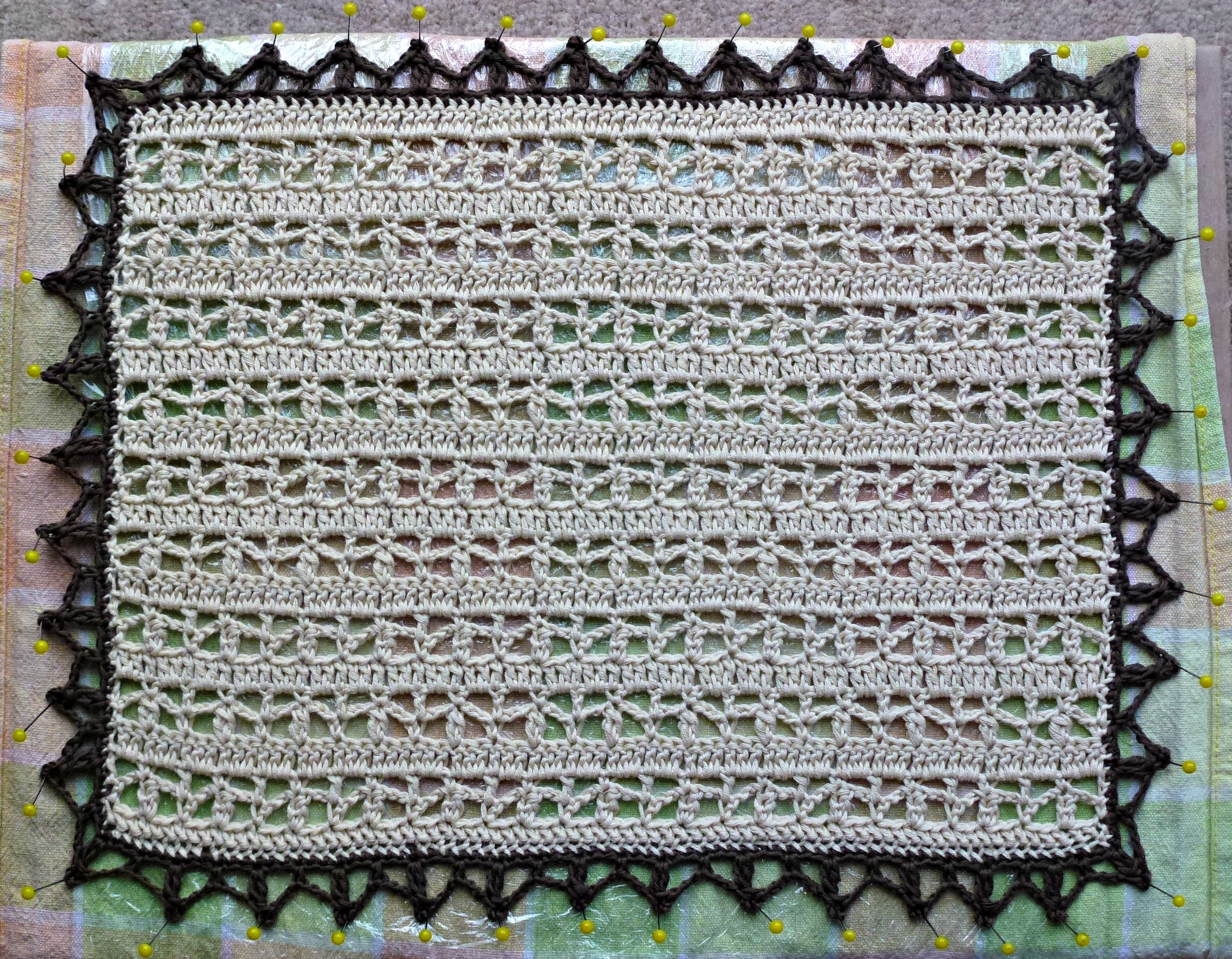 Crochet Doily Zeens And Roger
