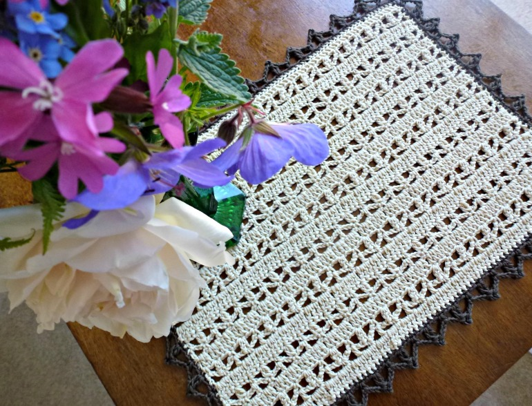 cotton crochet doily
