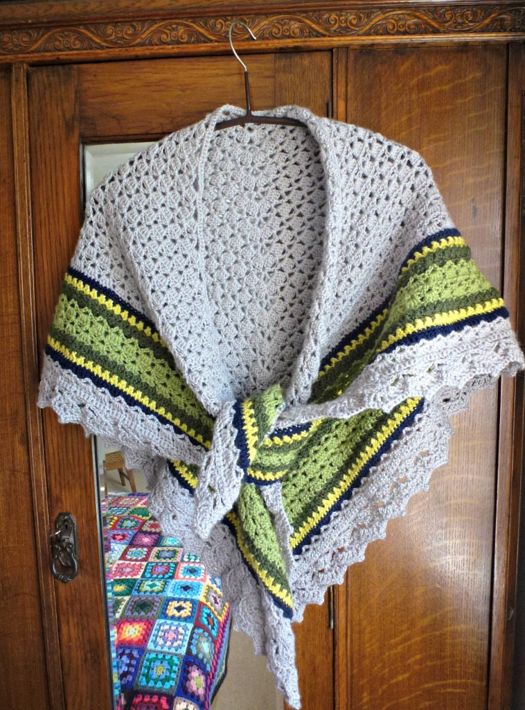 shawl finished