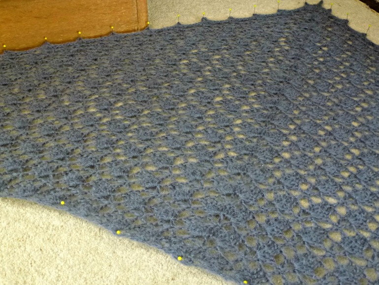 blocking crochet