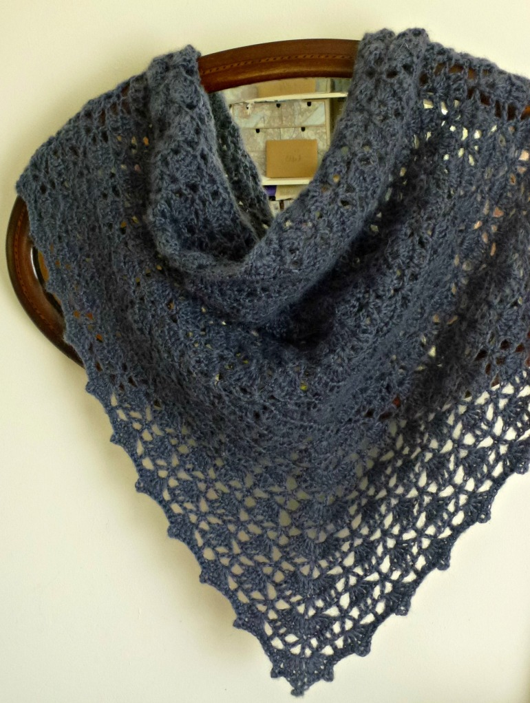 mohair shawl