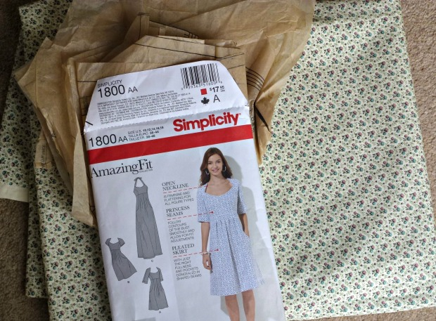simplicity sewing pattern