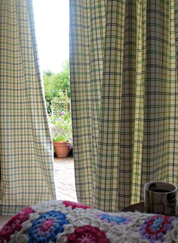 Homemade curtains