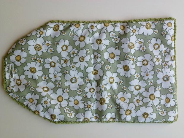 lining crochet purse