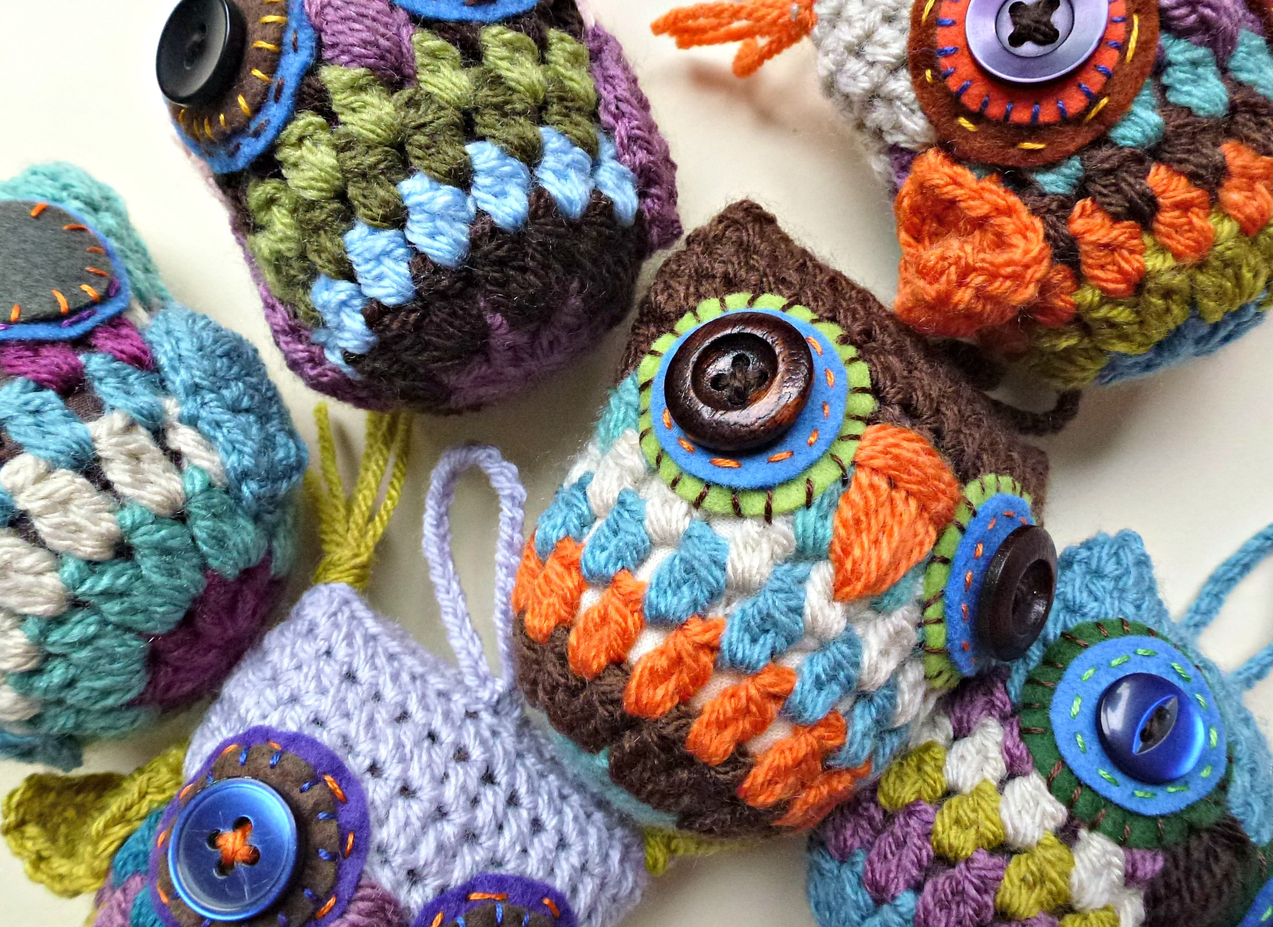 Crochet Decoration Patterns Crochet Granny Owl Decoration Free Pattern Zeens And Roger