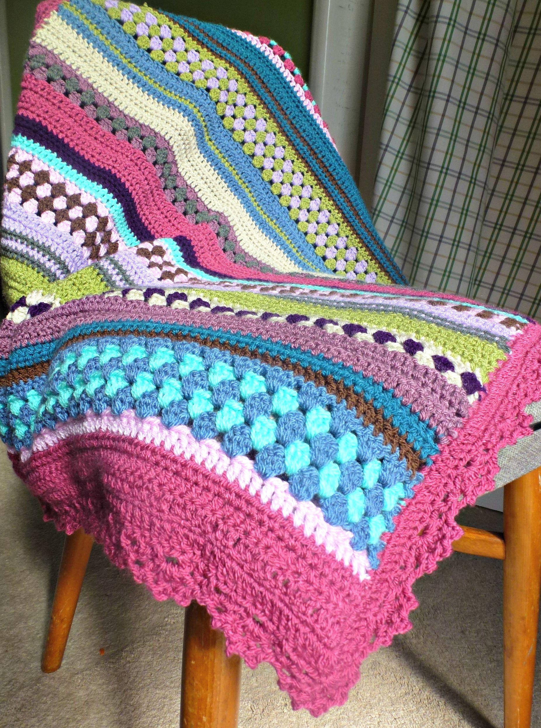 crochet baby blanket ? Zeens and Roger