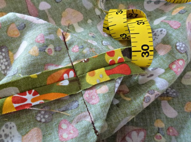 sewing a mitred corner