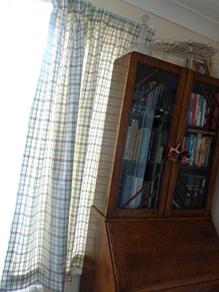 Using Ikea fabric to make curtains