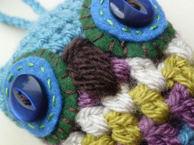 crochet owl pattern. It's in the detail.