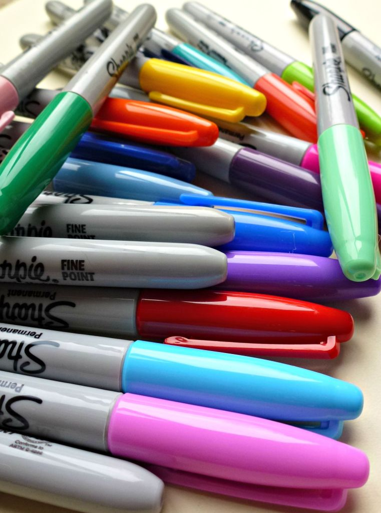 My new Sharpie pens!