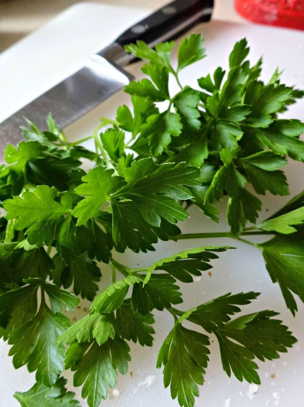 Parsley from the garden. Very easy to grow.