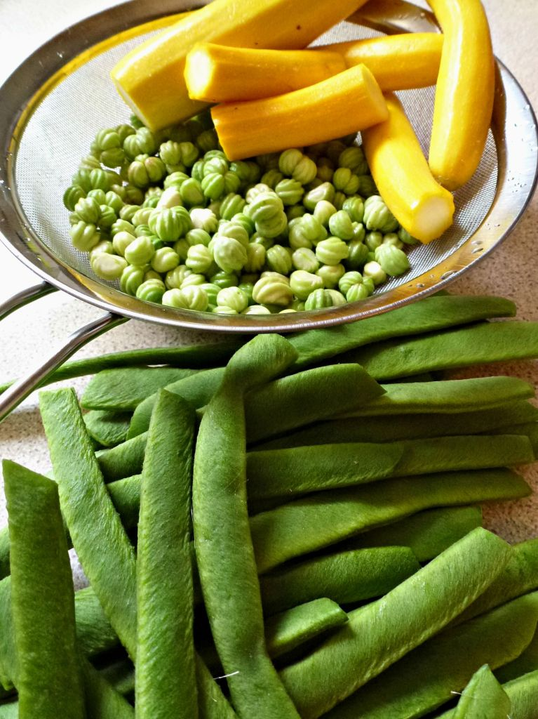 vegetables for turning into piccalilli