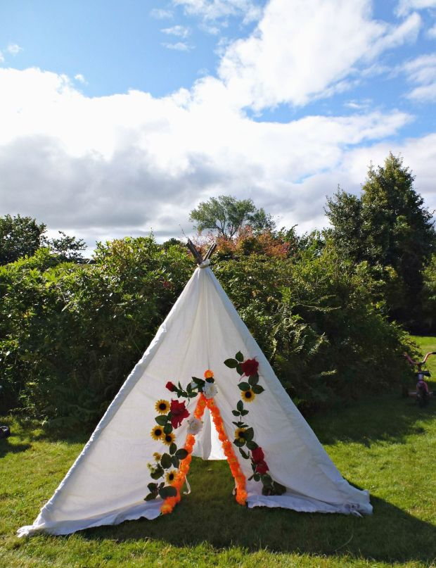 A teepee fit for fairies