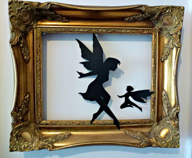 Fairies in a frame. These looked really effective