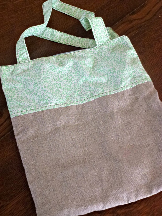 A simple handmade tote.