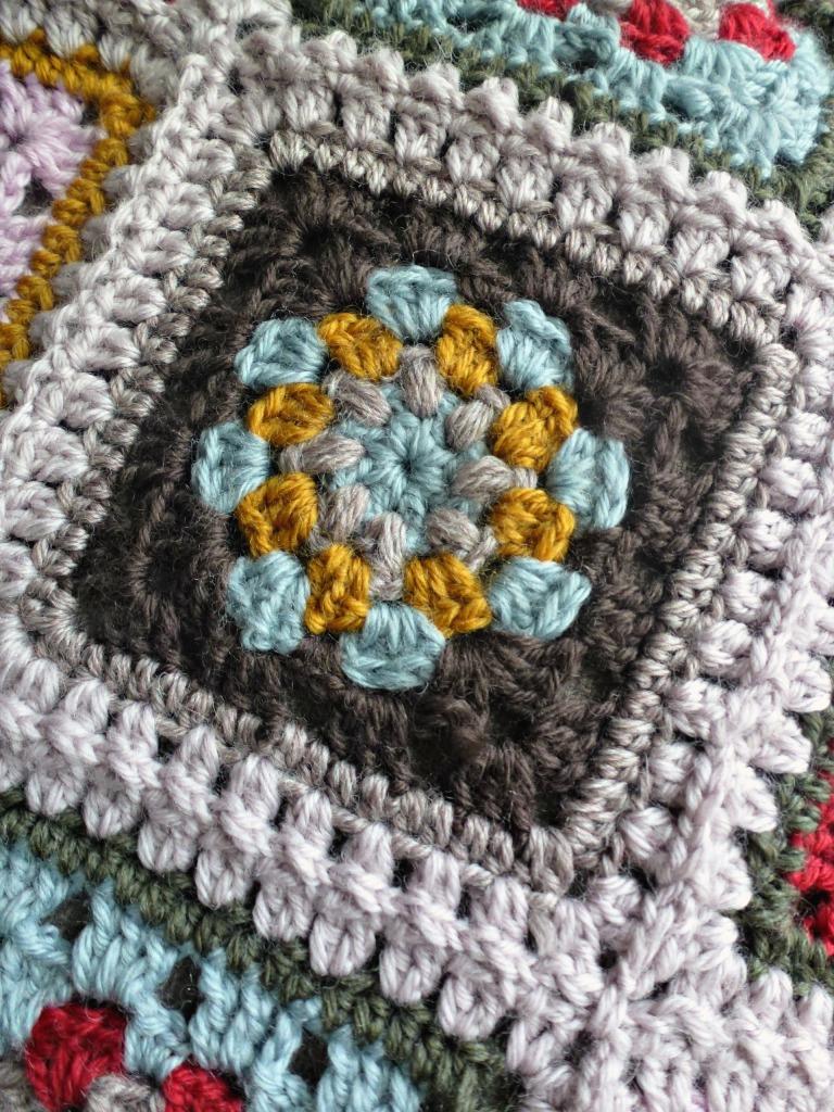 Lily pad granny square