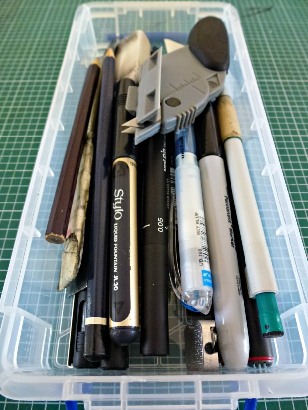 My favourite pens and pencils and things!