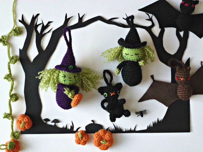 The Amigurumi Halloween collection.