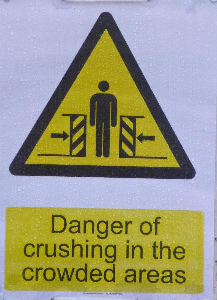 crushing crowds