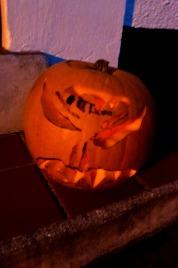 E's pumpkin.
