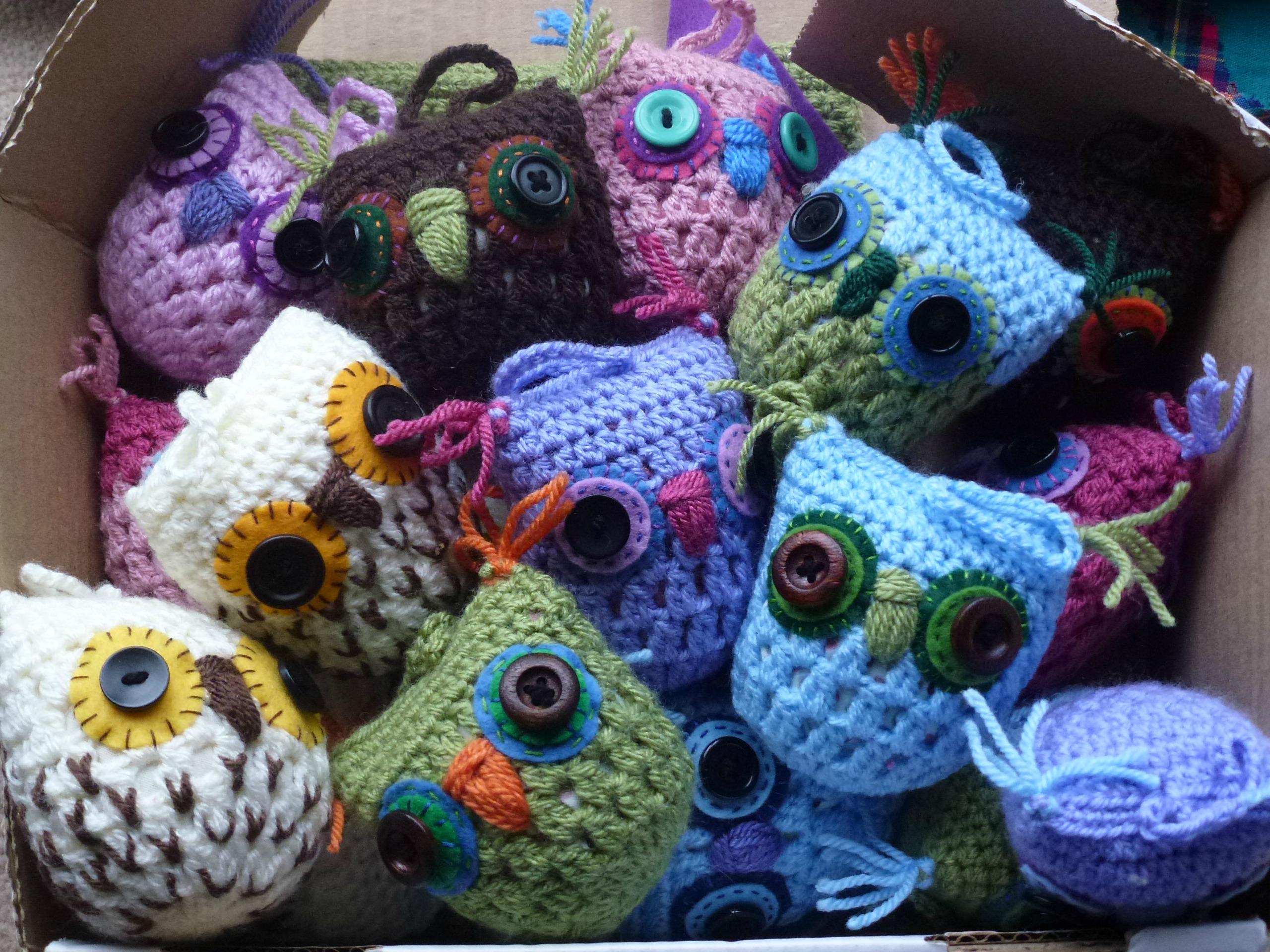 Crochet owl pattern zeens and roger lots of crochet owls bankloansurffo Image collections