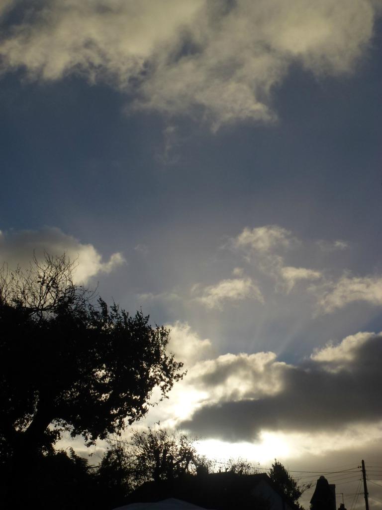 morning sky in november