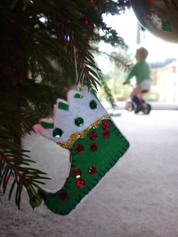 boy made elf boot