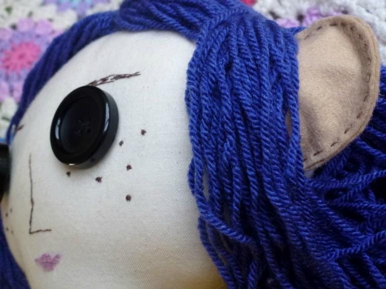 Coraline's face