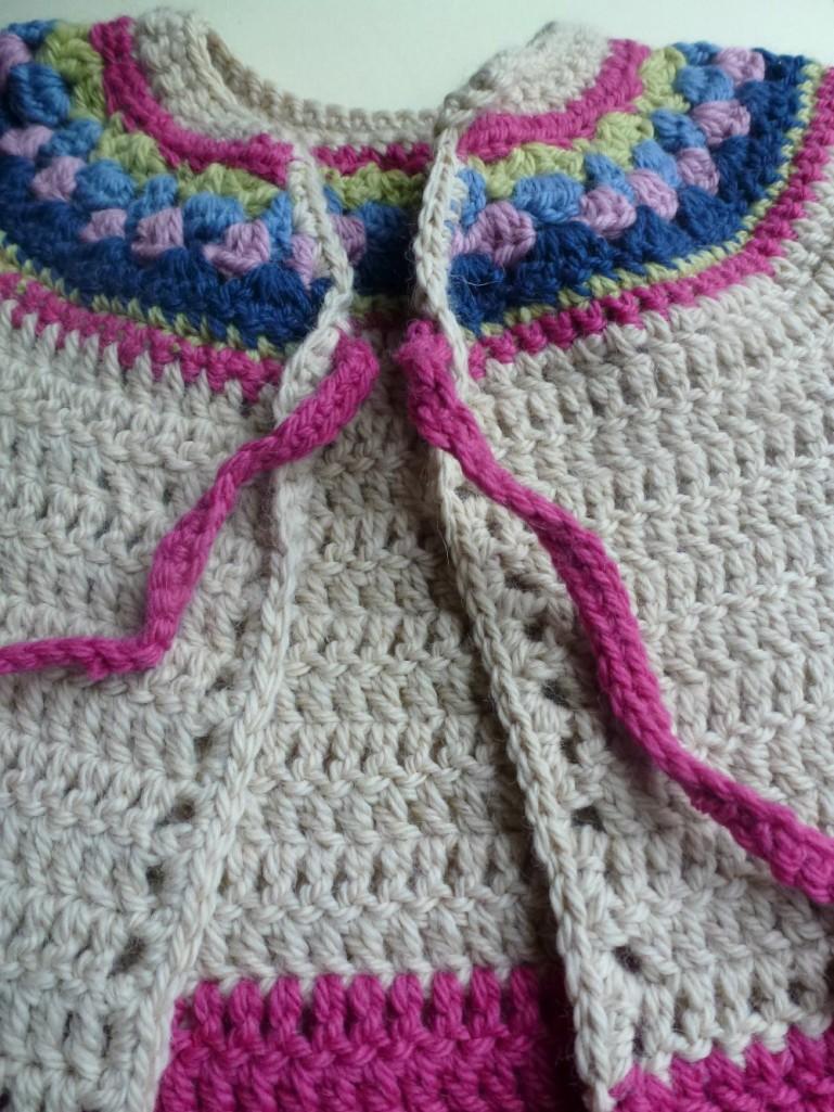 little crochet cardi