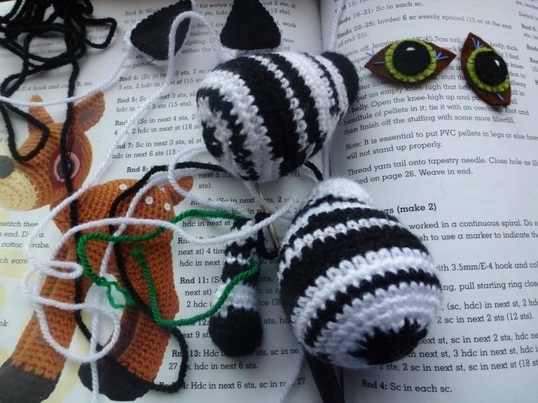 pieces of zebra