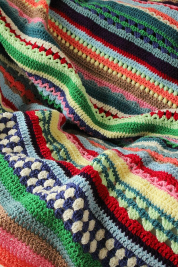 Spice of Life CAL blanket.