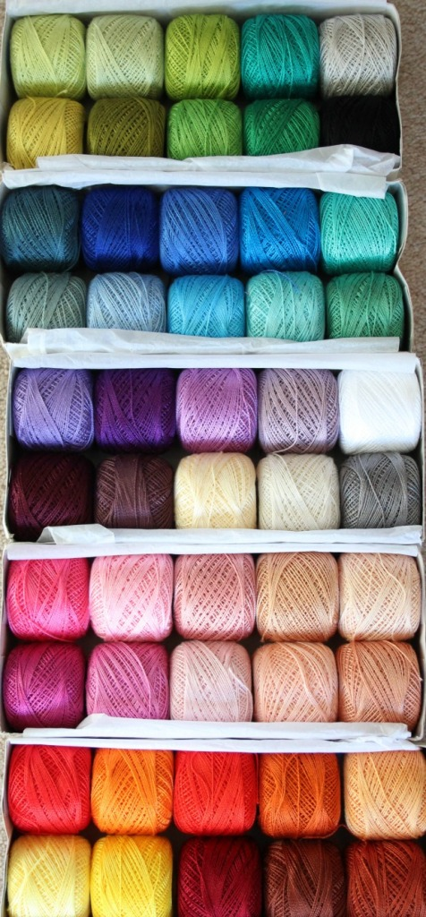 many colours of anchor cotton