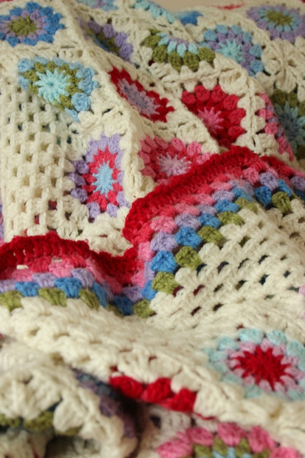 One of my many crochet blankets.