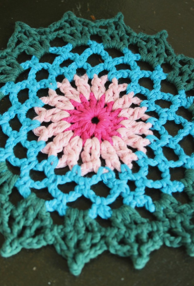 Ugly cotton doily