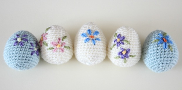Amigurumi Easter Eggs Crochet Pattern : Crochet Yourself an Amigurumi Easter Egg. Video Tutorial ...