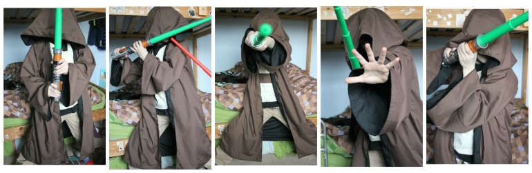 Jedi in training.