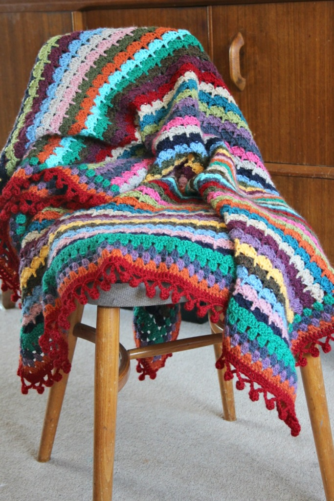 My Spice of Life inspired crochet blanket.