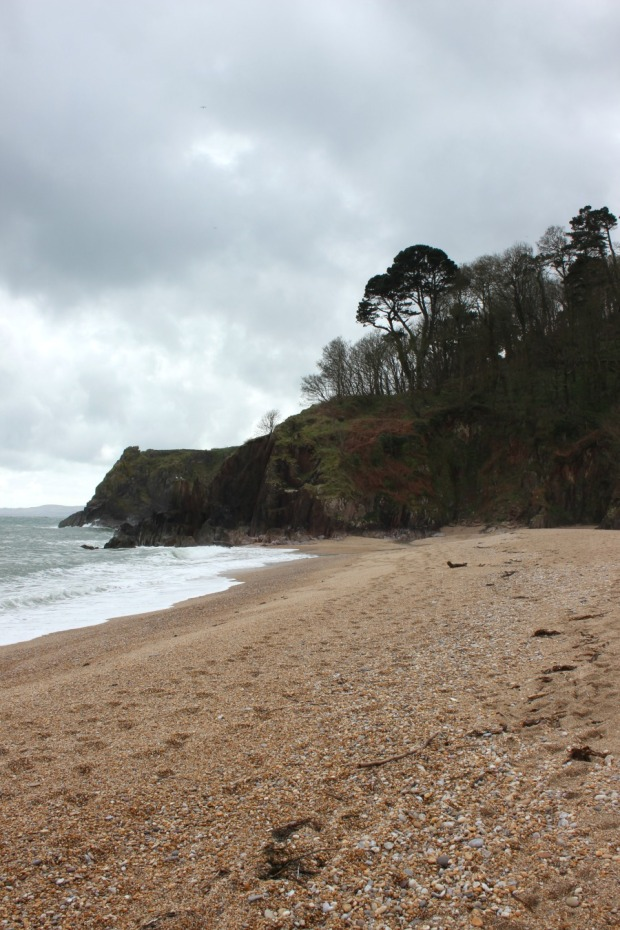 One end of Blackpool Sands - Copy