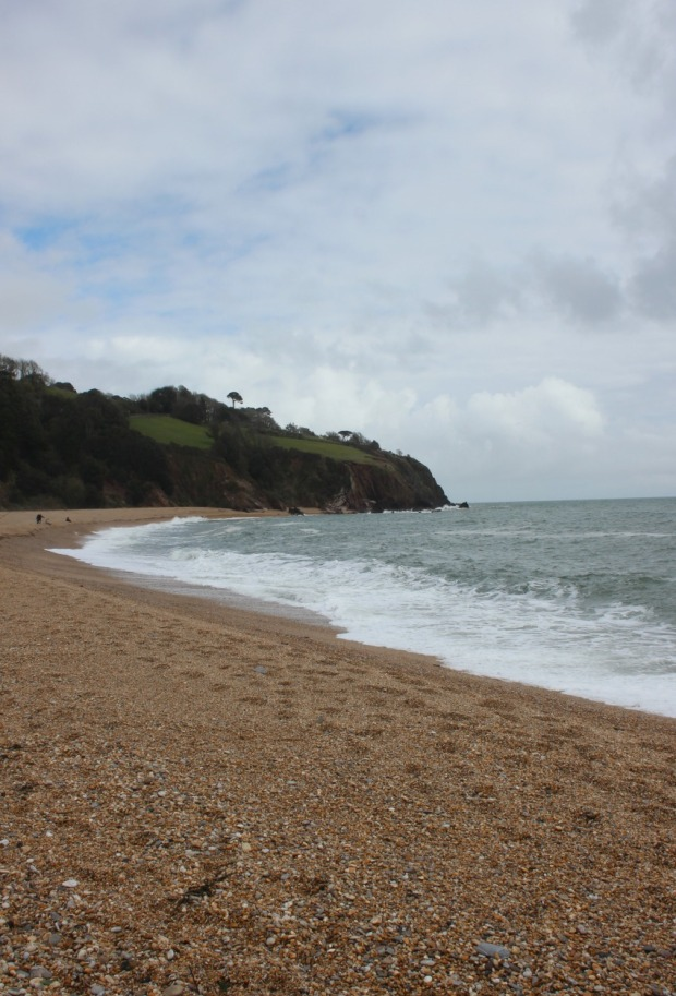 The other end of Blackpool Sands