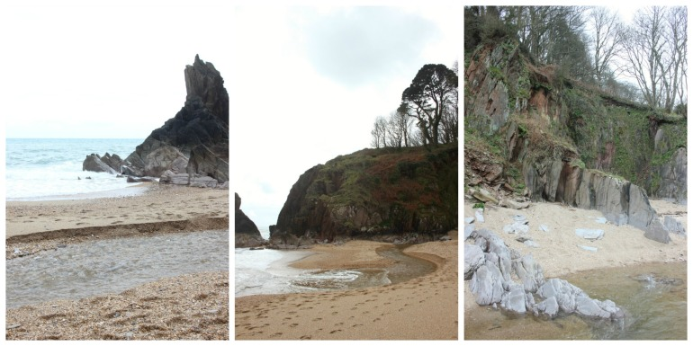 The top end of Blackpool Sands