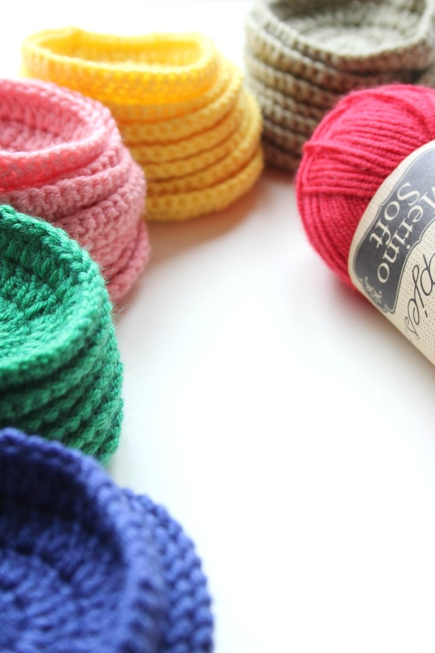 colourful crochet circles with scheepjes merino soft