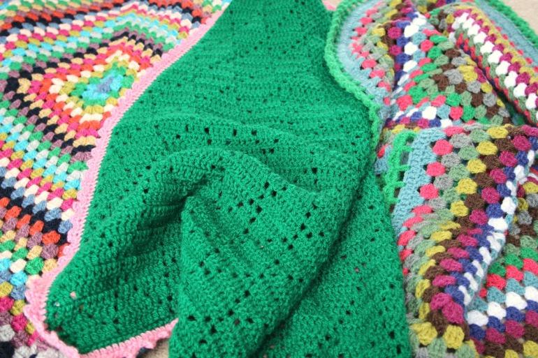 happy crochet blankets