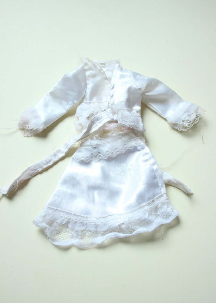 dolls wedding outfit