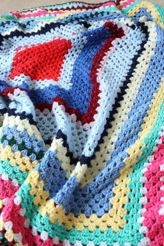 nanna's crochet blanket.