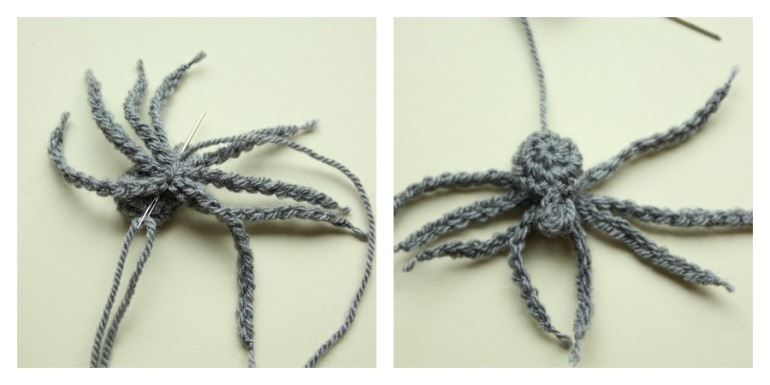 attaching-crochet-spider-legs