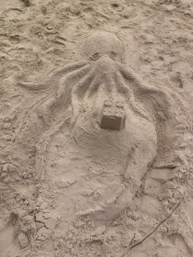 octopus-sandcastle