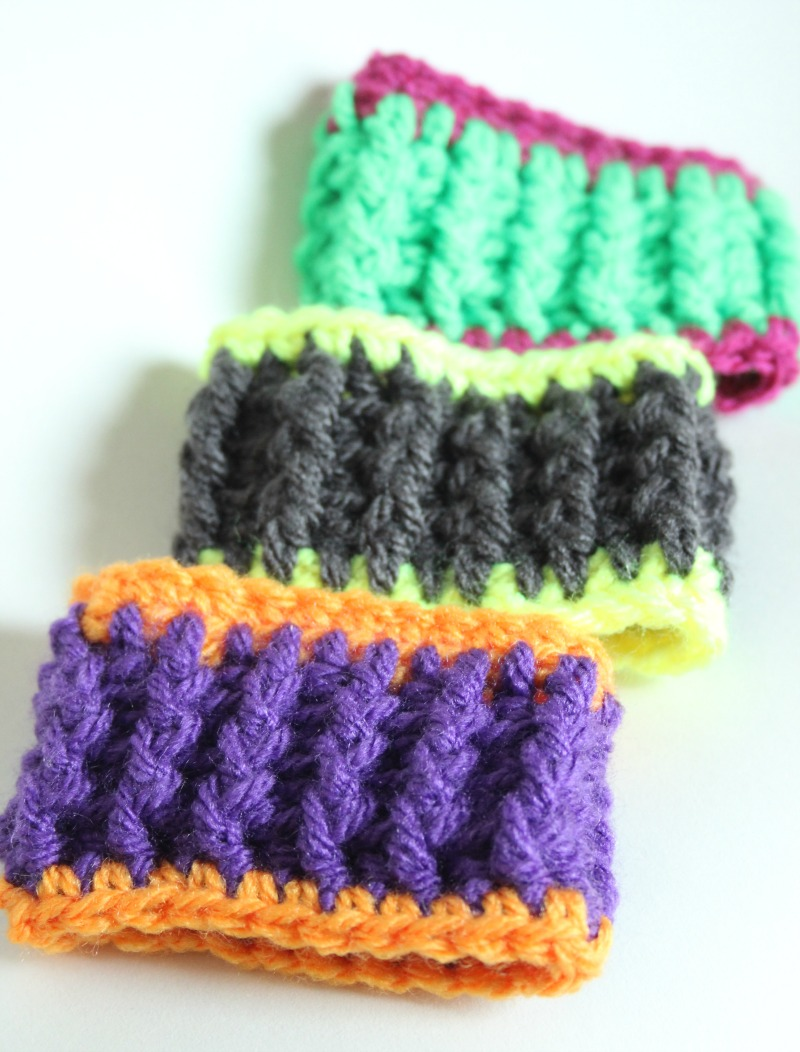 Speedy Crochet Bracelet. A Free Pattern. – Zeens and Roger