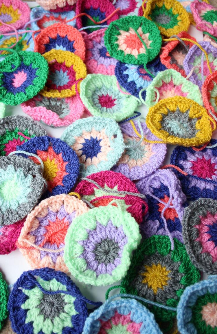 Crocheting Circles : colourful-crochet-circles